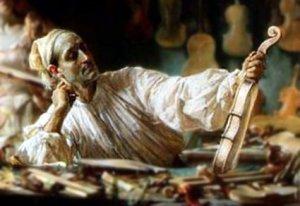 Antonio Stradivari Edgar Bundy painting crop