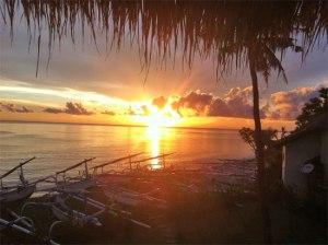 sunrise in amed Bali