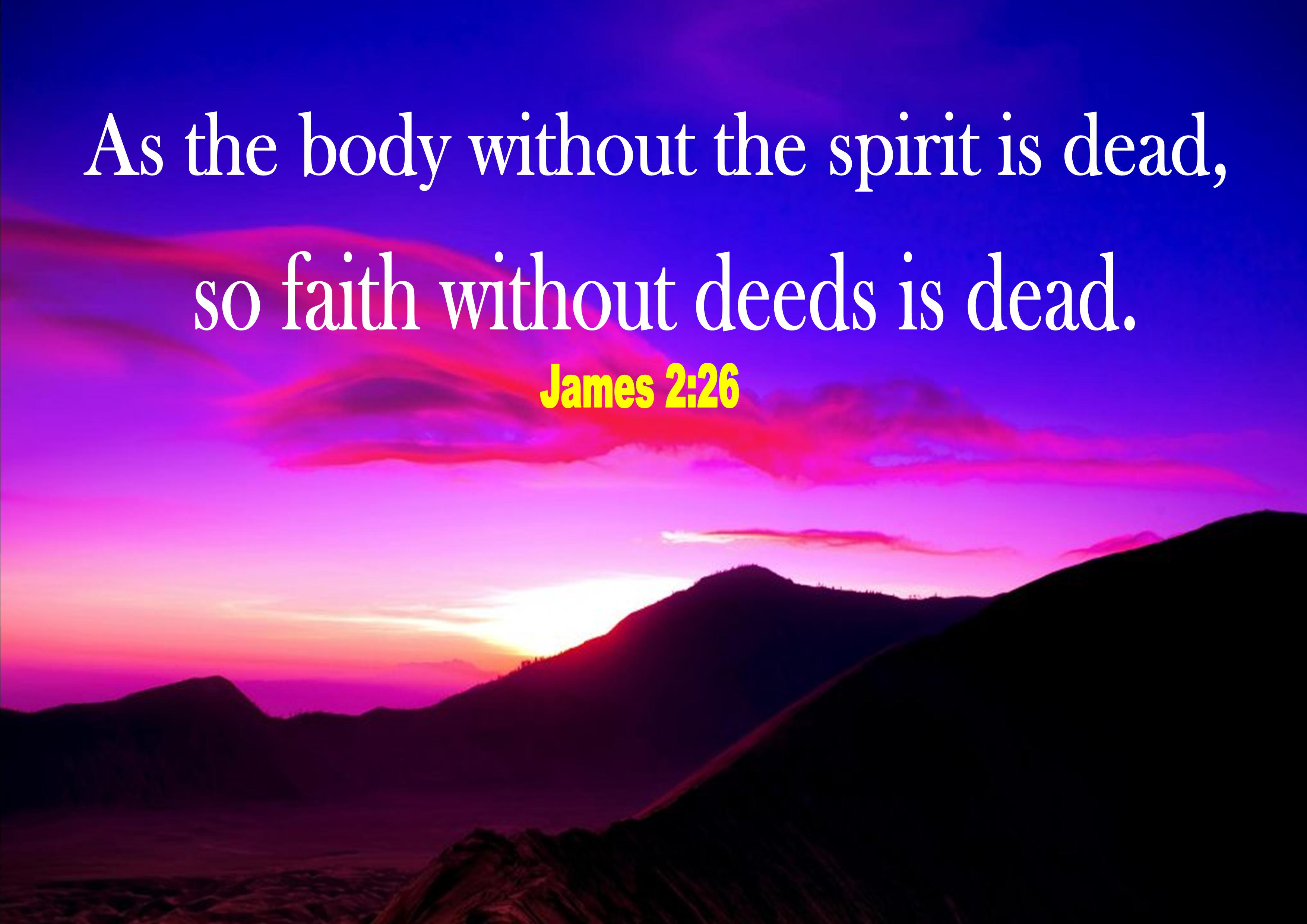 About faith and deeds 2