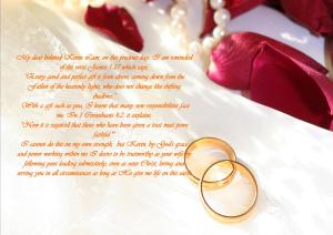 wedding vow 2 - Karina's Thought