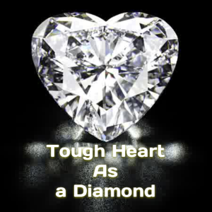 Tough heart as a diamond