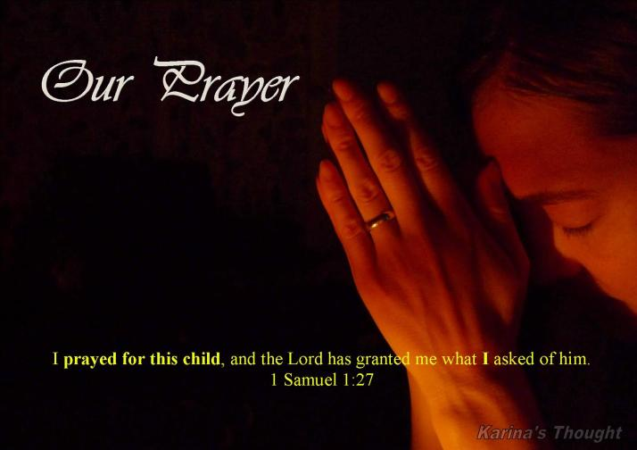 Our Prayer-Karina's Thought