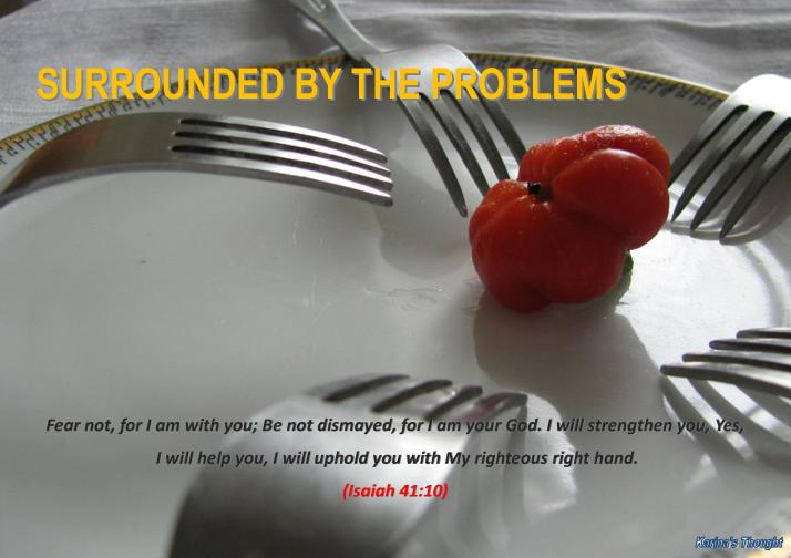 SURROUNDED BY THE PROBLEMS-Karina's Thought