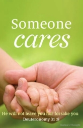 SOMEONE CARES -Karina's thought