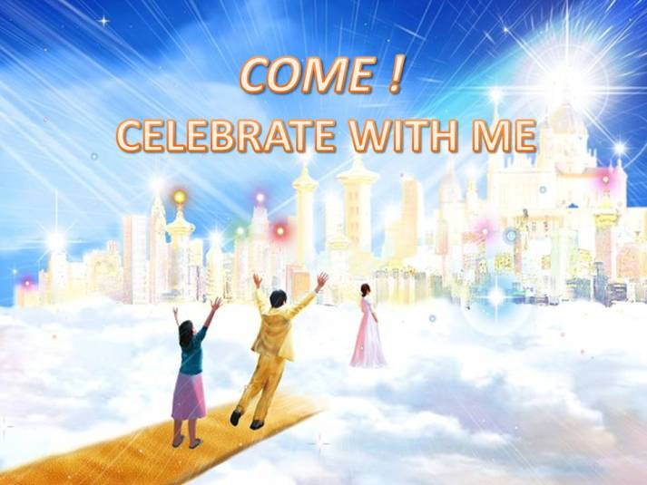COME CELEBRATE WITH ME- Karina's Thought