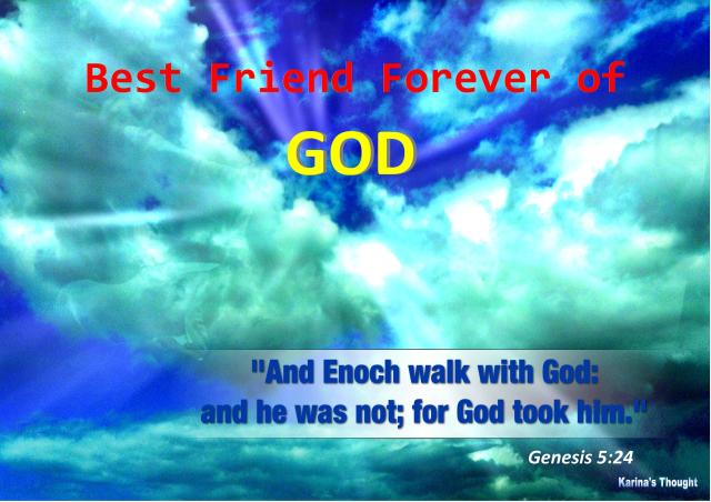 BFF OF GOD - Karina's Thought