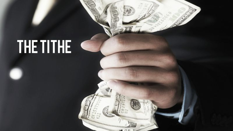 THE TITHE (guest post) - Money Solutions Online